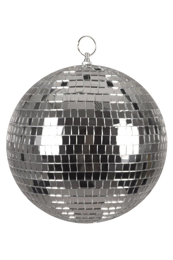 Disco bal zilver 20 cm 1