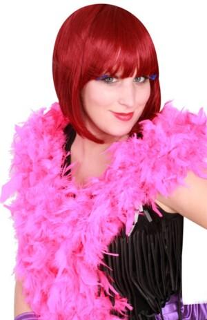 Boa donker roze 180 cm. 75 gr.
