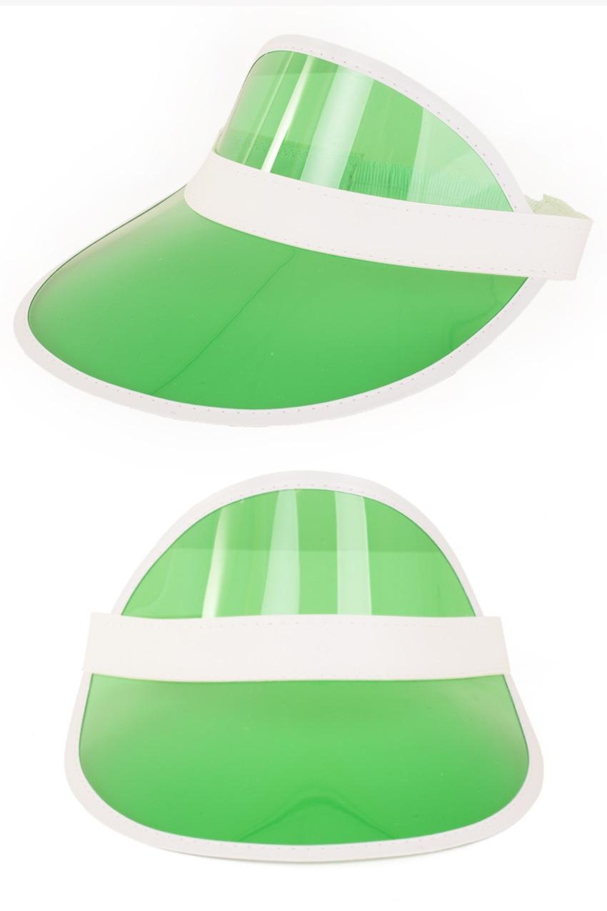 Zonneklep groen 1