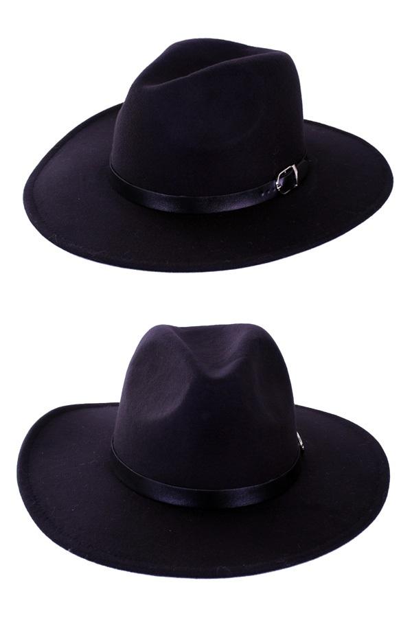 Cowboyhoed vilt Texas Ranger zwart 1