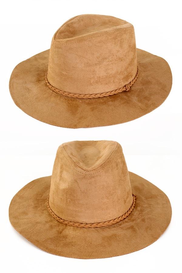Cowboyhoed suede Indiana beige 1