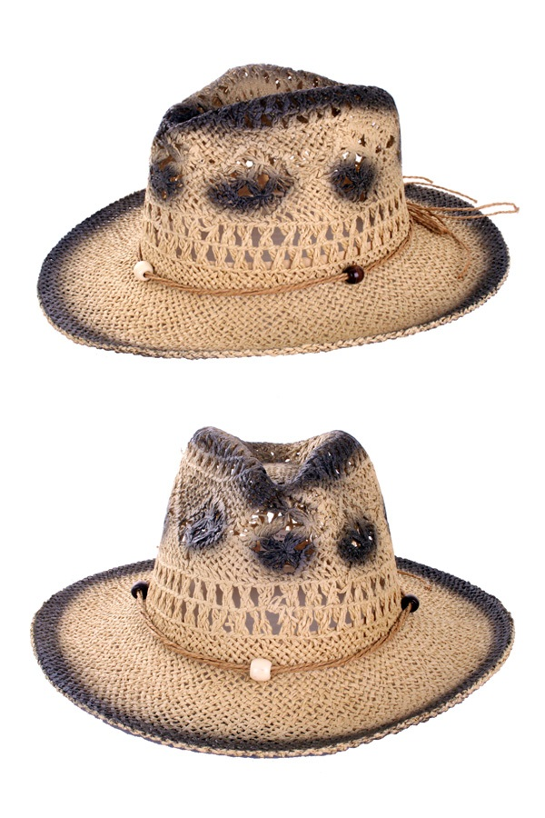 Zomerhoed cowgirl stro naturel 1