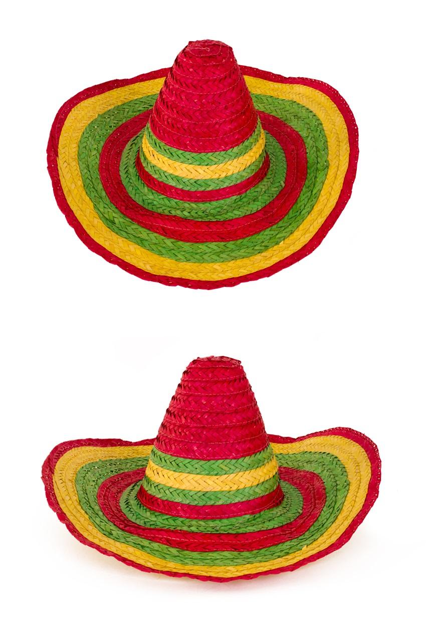 Sombrero mexico populaire multi one size 1