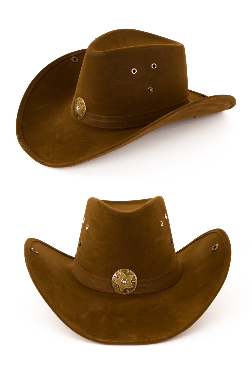 Cowboyhoed nevada leatherlook 1
