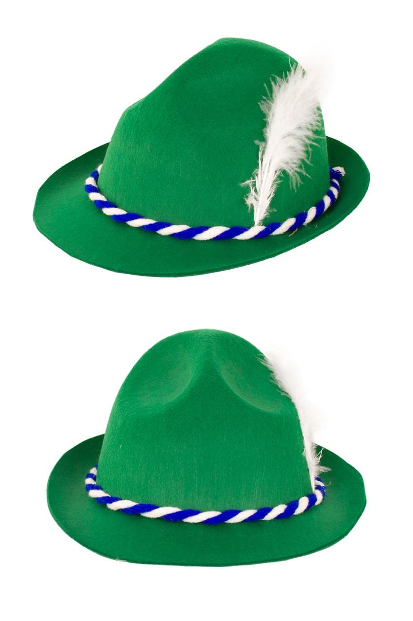 Tiroler hoed groen bayern 1
