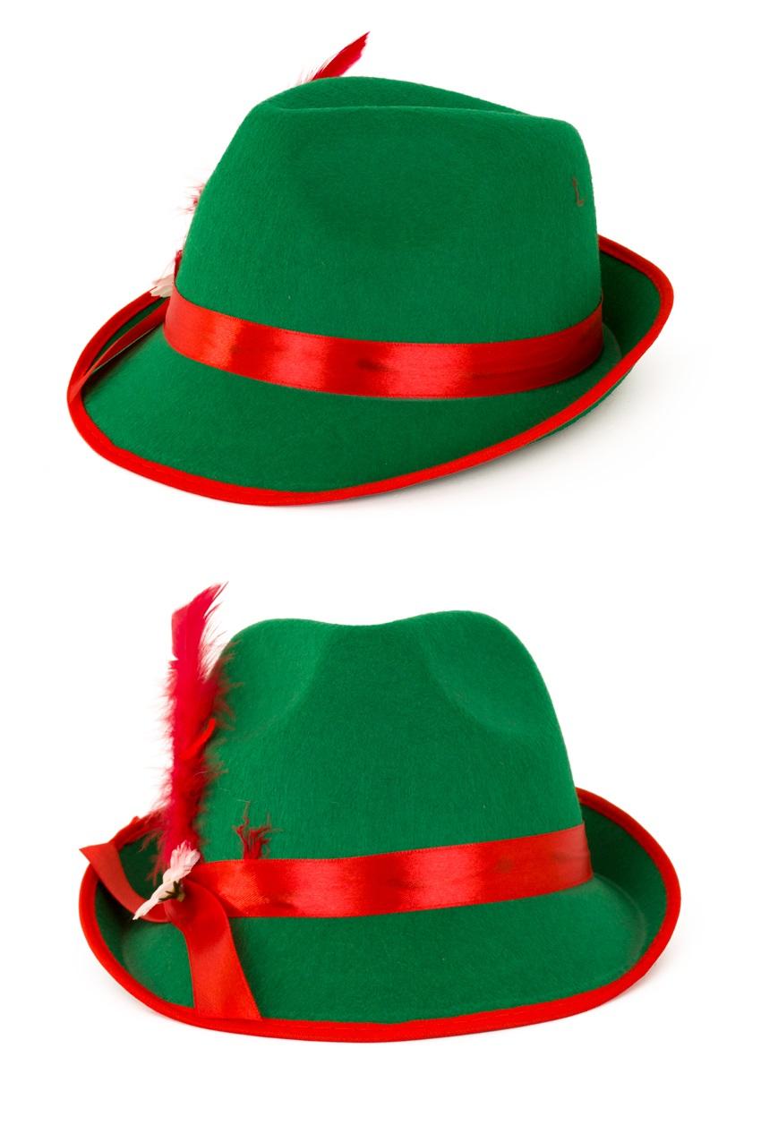Tirolerhoed heren groen populair 1