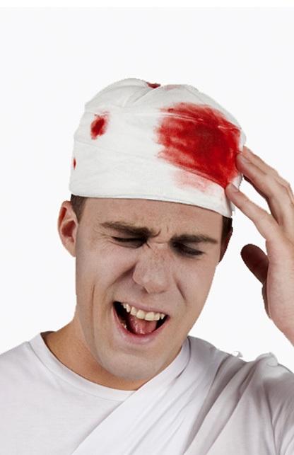 Muts verband met bloed 1