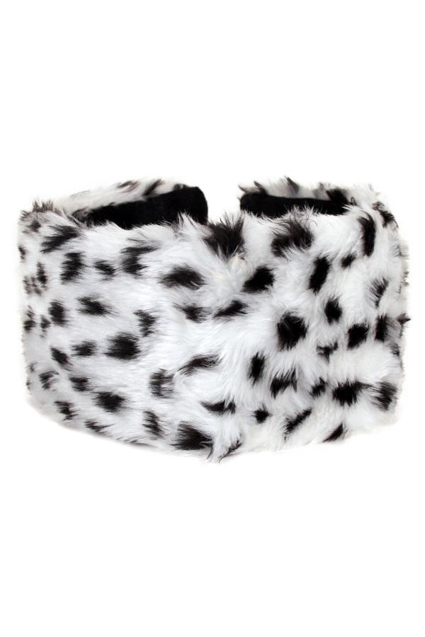 Hoofdband pluche zebra 1