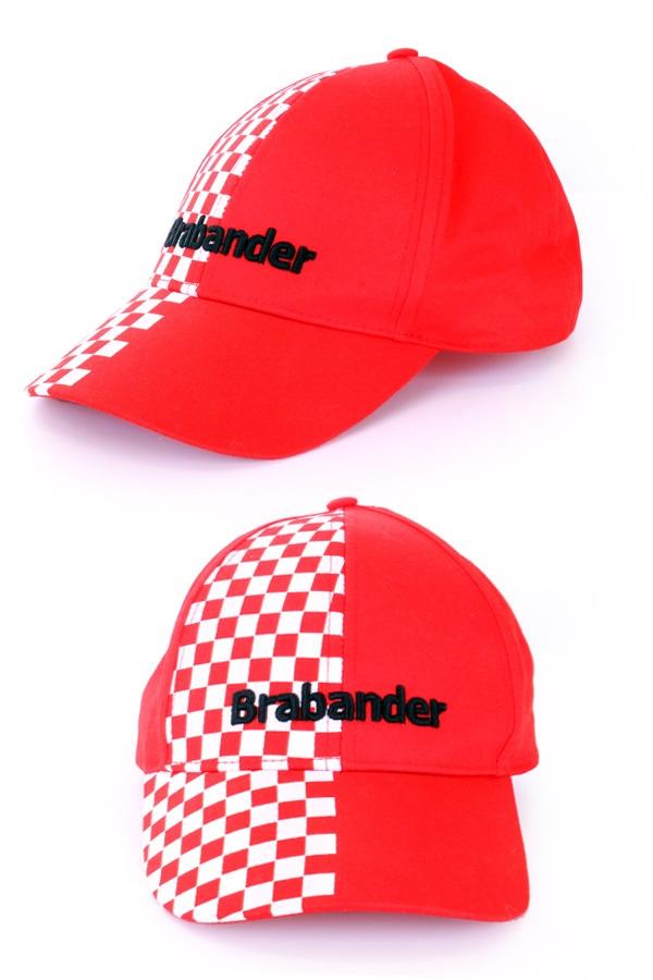 Pet Brabander rood/wit geblokt 1