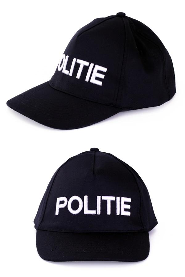 Pet politie zwart 1