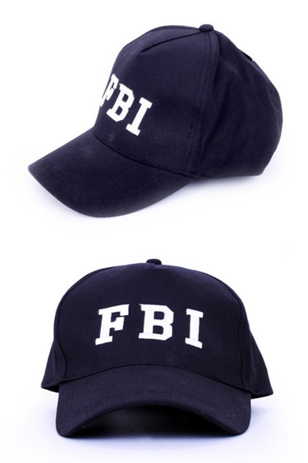Pet FBI zwart 1