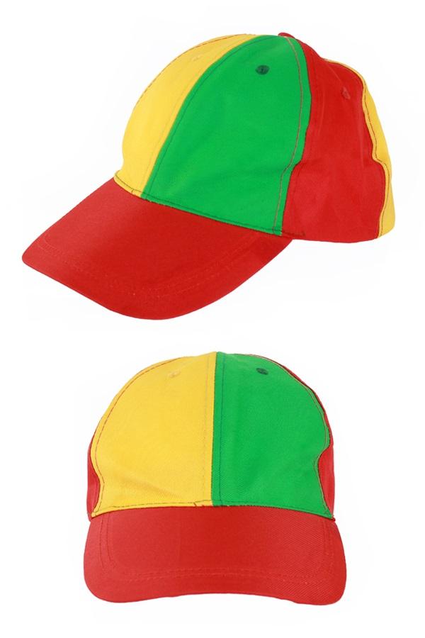 Pet rood/geel/groen verstelbaar 1