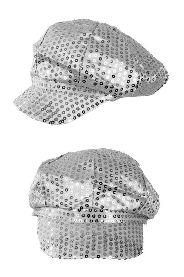Pet glitter pailletten zilver 1