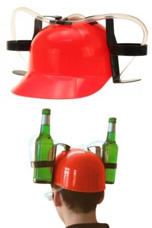 Drink helm rood