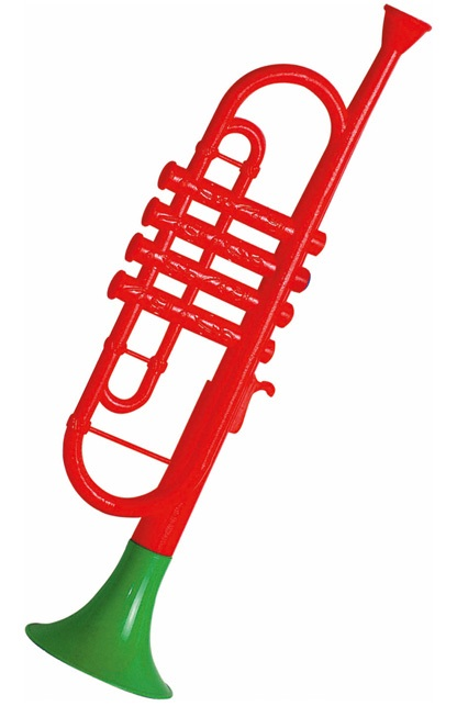 Trompet plastic 1