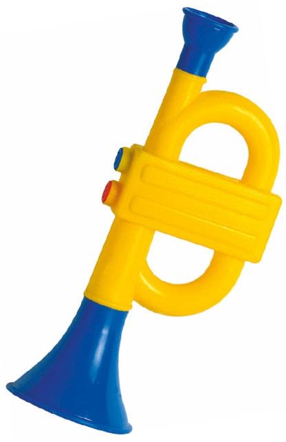 Baby trompet plastic 1
