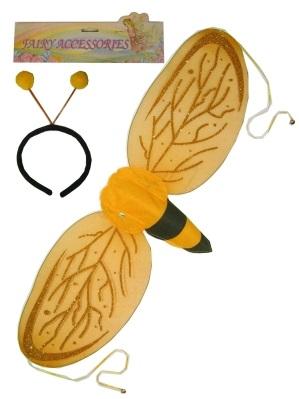 Bijenvleugels met diadeem 1