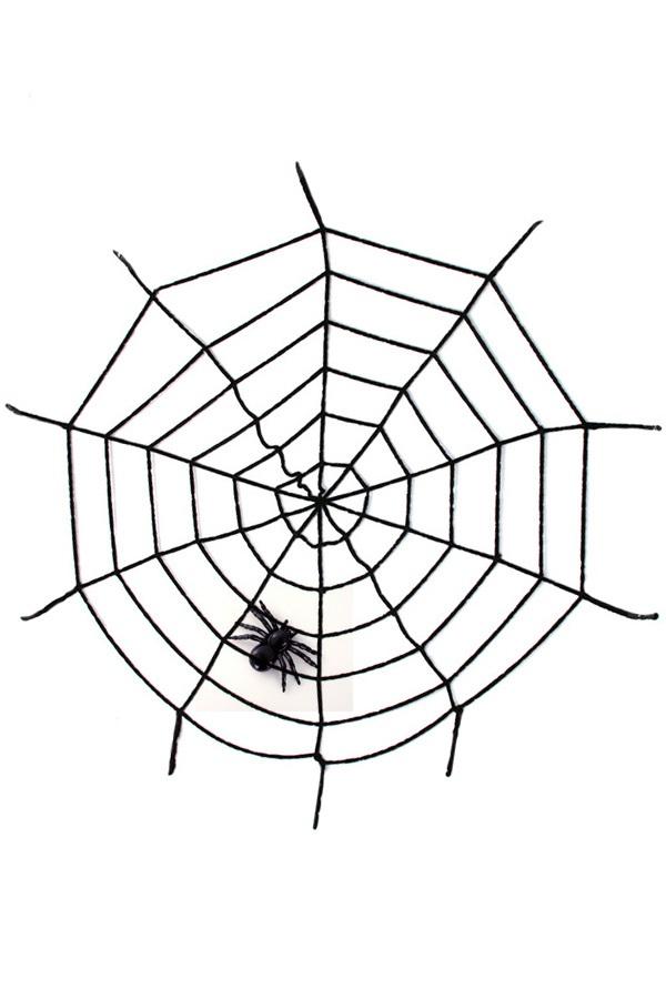 Spinnenweb black widow 1
