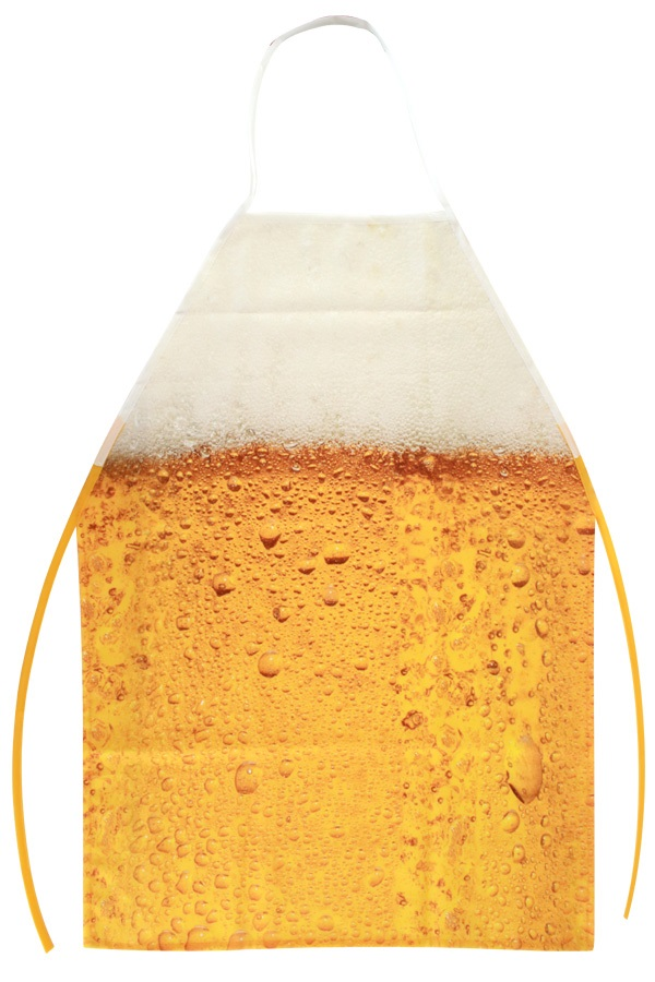 Schort bier patroon one size 1