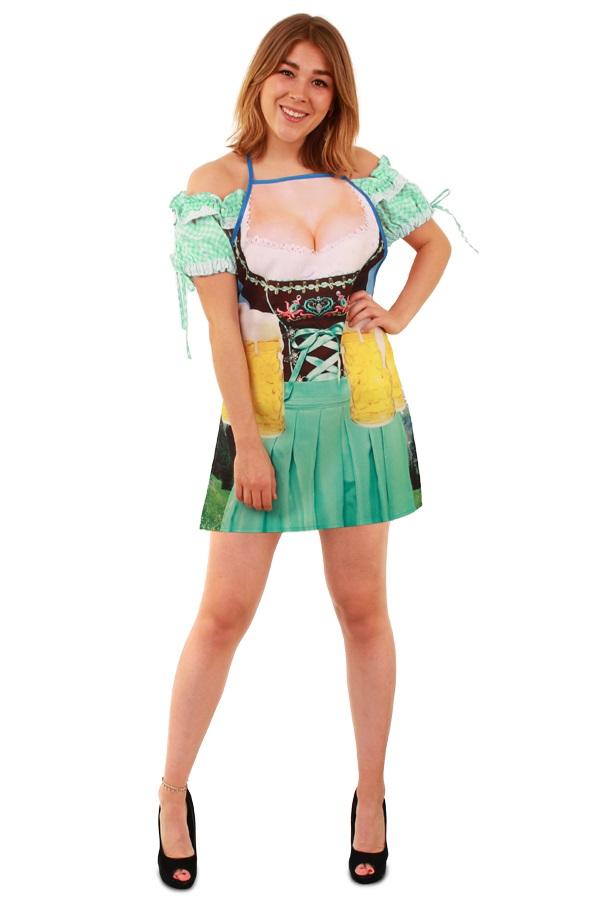 Schort oktoberfest vrouw one size 1