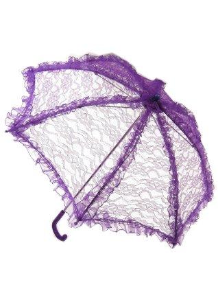 Bydemeyer paraplu paars klein scherm 65 cm