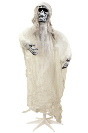 Skelet in gewaad met geluid