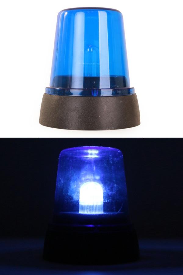 Politie zwaailicht blauw 12 cm