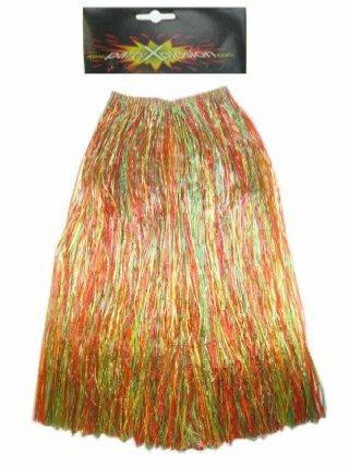 Hawaiirok multicolour dames 80cm