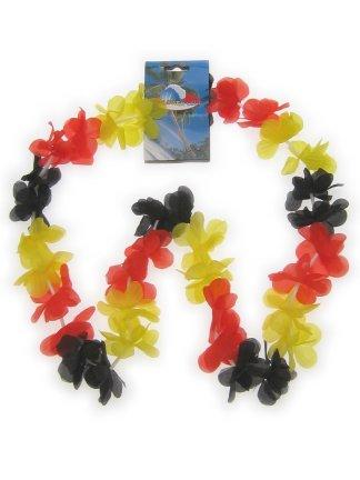 Hawaii slinger zwart/rood/geel 1