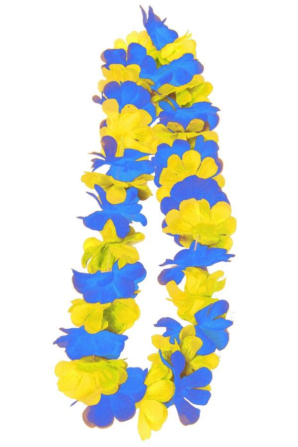 Hawaii slinger blauw/geel 1