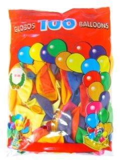 Ballon 100x assortie mt 9 / 25cm 1