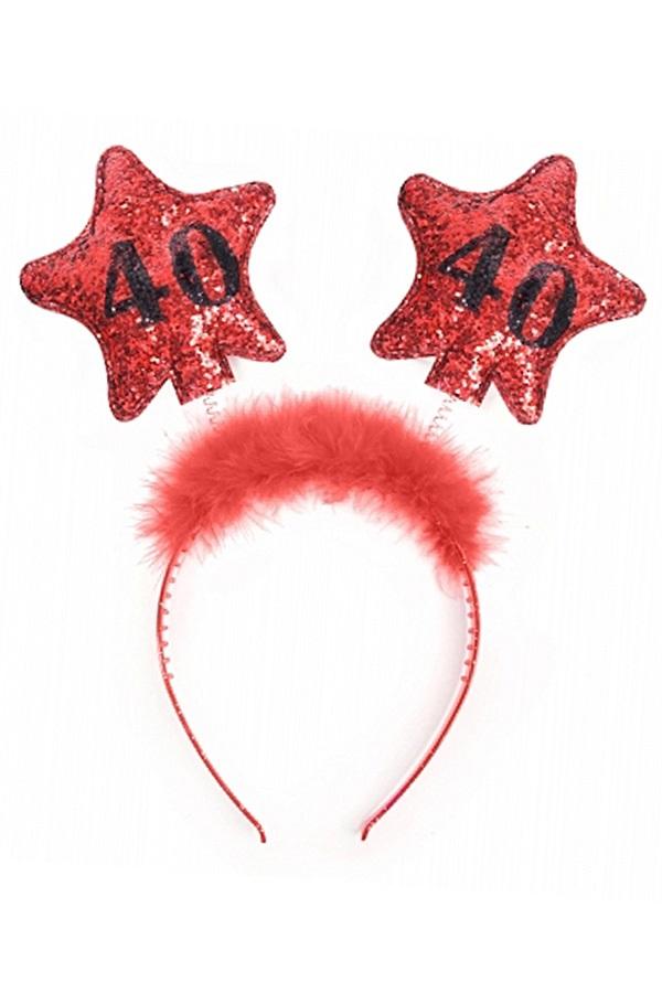 Diadeem rode sterren 40 1