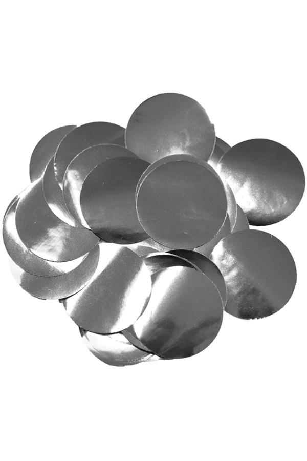 Confetti zilver 14 gram metaalfolie  1