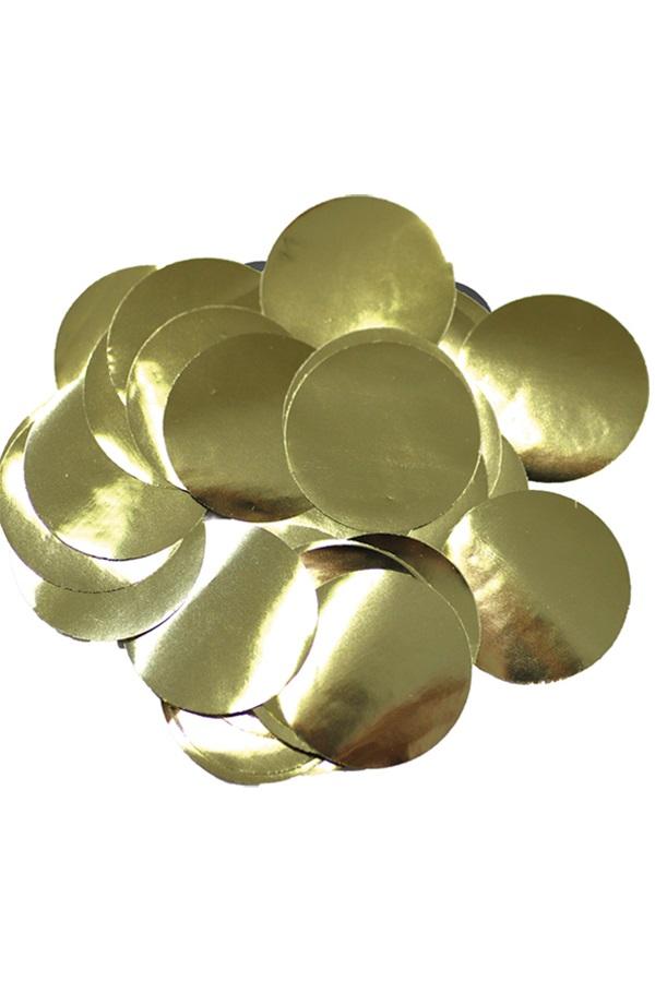 Confetti goud 14 gram metaalfolie  1