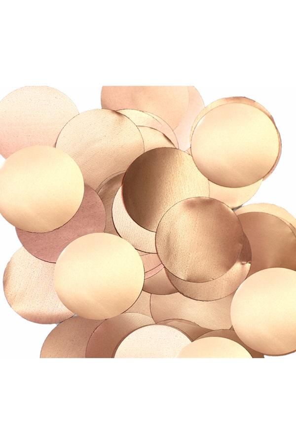 Confetti rose goud 14 gram metallic pearl  1