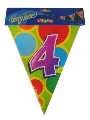 Vlaggenlijn leeftijd: 4 p.e
