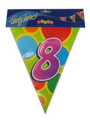Vlaggenlijn leeftijd: 8 p.e