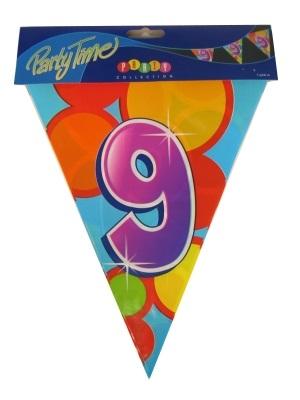 Vlaggenlijn leeftijd: 9 p.e