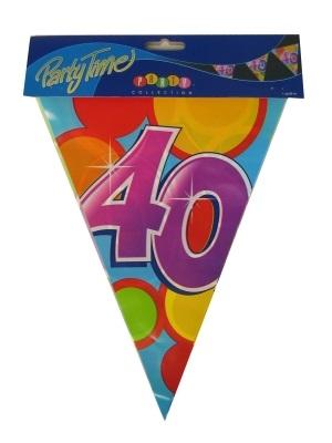 Vlaggenlijn leeftijd: 40 p.e
