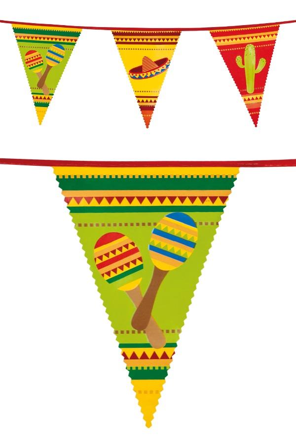 Vlaggenlijn pe Fiesta  6 m 1