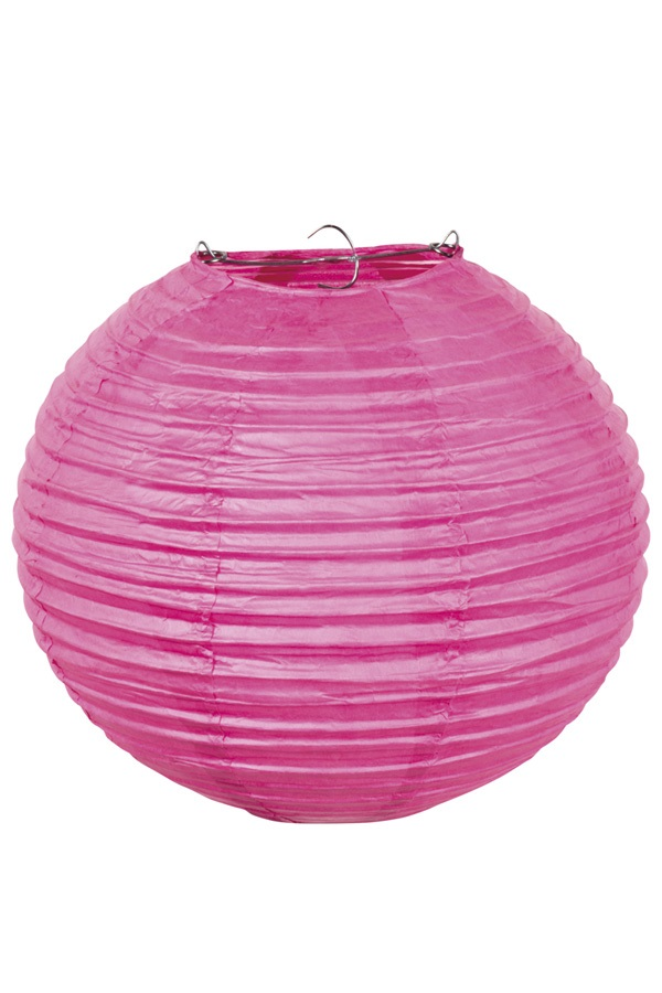 Lampion pink 25 cm