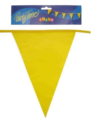 Vlaggenlijn  pe geel 10m 1
