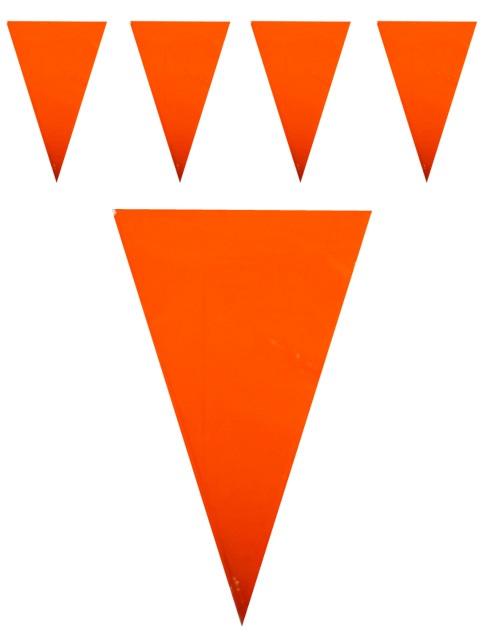 Vlaggenlijn oranje 10m  1