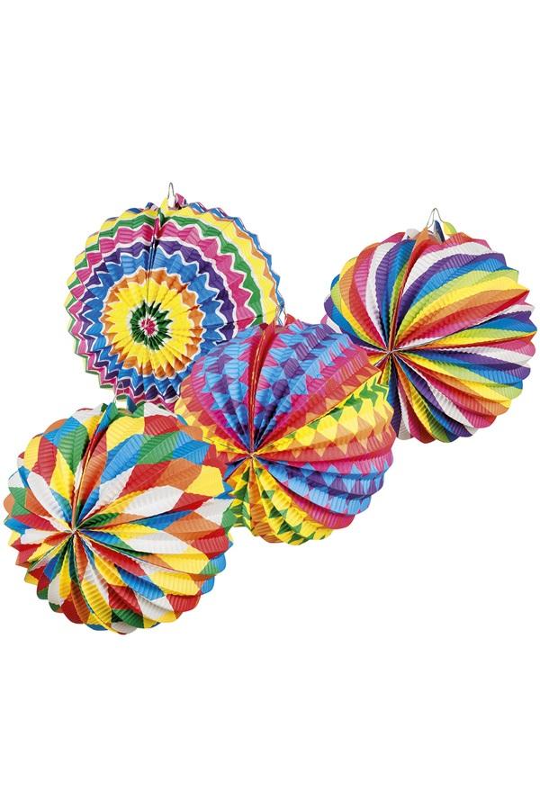 Lampion Bright Balloon 4 assortie Ø 22 cm