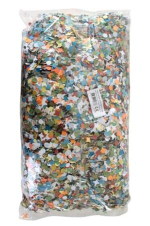 Confetti kantig bont 10 x 1 kg  A-kwaliteit