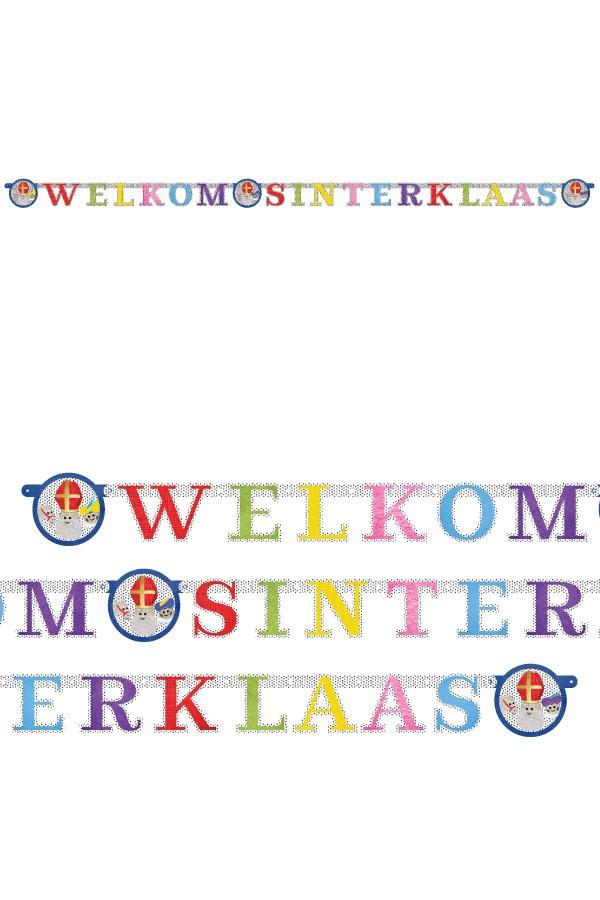 Letterslinger Welkom Sinterklaas  1