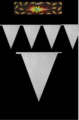 Vlaggenlijn wit 10m 1