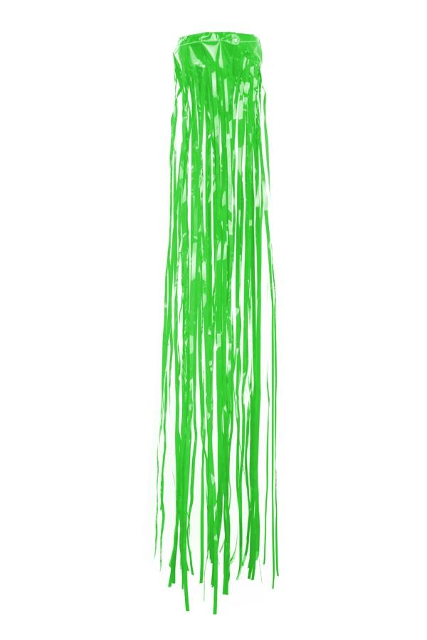 PVC slierten windsock groen 80 cm BRANDVEILIG 1