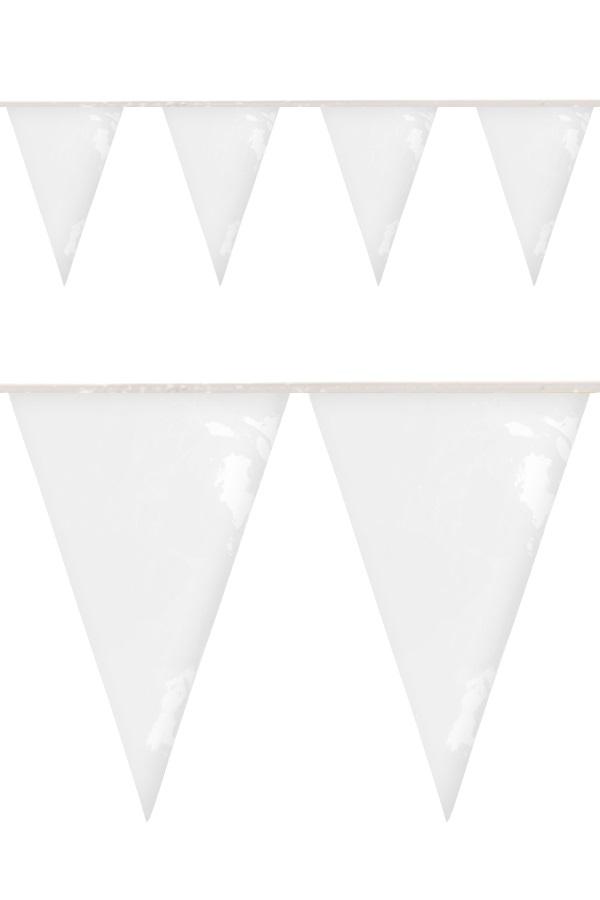 PVC vlaggenlijn wit 10 meter BRANDVEILIG 1