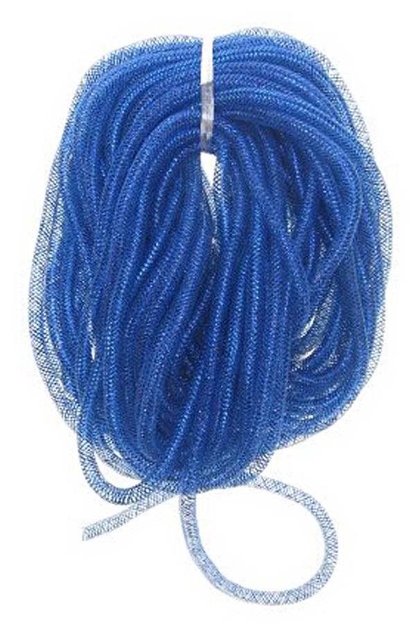Decoratie tube blauw Ø10 mm per 2,5 meter in zakje 1